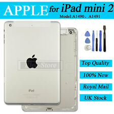 Silver Back Battery Cover For iPad Mini 2 A1490 A1491 Replacement Housing Case