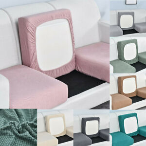 Sofa Seat Cushion Cover Couch Slip Covers Replacement Fabric Stretchy Protector
