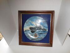 "75th Anniversary Royal Canadian Navy ""HMCS SACKVILLE"" Decorative Plate"