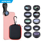 10 in 1 Universal Clip On Cell Phone Camera Lens Kit for all iPhone Android M0O1