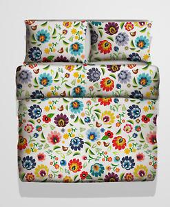 Beautiful 3D Bedding Folk Pattern 2tlg. 135 x 200cm 100% Microfibre Duvet Set