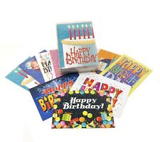 Bulk Birthday Card Set - 36 Cards & 37 Envelope Bulk Set 711a