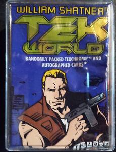 William Shatner Tek World Trading Cards Complete set 1-100