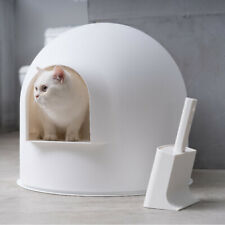 Pidan Studio - Igloo Design White Cat Litter Tray