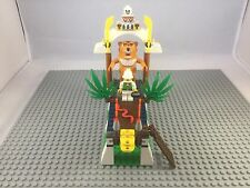 Lego Orient Expedition 7411 Tygurah's Roar 100% Complete + Instruction Rare