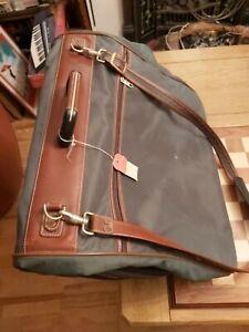 Vintage 1990s Samsonite Garment Bag Cabin Luggage Suit Carrier Green
