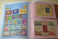 S. VIETNAM   1952  Stamp  -  Twenty  two  used  Stamp   with   Album   pages .