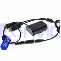 Power Bank USB DC Coupler Dummy Battery - Sony Canon PANASONIC Nikon DSLR
