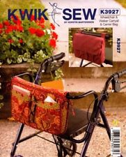 Kwik Sew Sewing Pattern K3927 3927 Wheelchair and Walker Bag and Carryall