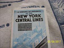 1934 Chicago World's Fair A Century Of Progress New York Central Railroad Train