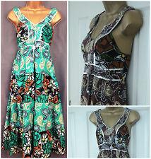 Debenhams Cotton V-Neck Sleeveless Dresses for Women