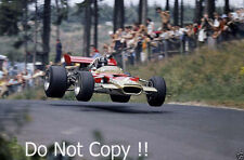Graham Hill Gold Leaf Team Lotus 49B German Grand Prix 1968 Photograph 3
