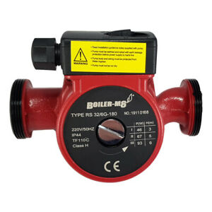 "Central Heating Circulator Pump UPS 32-60 180mm 2"" BSP - Grundfos Replacement"