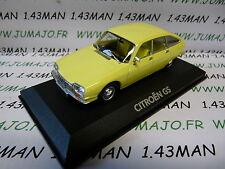 voiture 1/43 atlas NOREV voiture de mon père : CITROËN GS