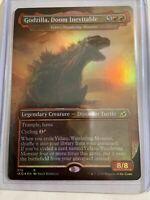 Godzilla, Doom Inevitable FOIL x1 Ikoria: Lair of Behemoths Pack Fresh NM/M!