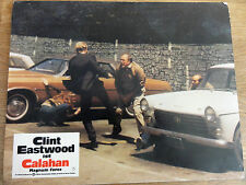 Aushangbild* CALAHAN Dirty Harry II Clint Eastwood Autos