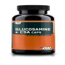 Optimum Nutrition ON Glucosamine + CSA, 120 Tablets - Chondroitin Joint Support