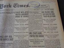1921 JUNE 16 NEW YORK TIMES - 600 MACHINE GUNS FOR IRISH TAKEN - NT 5483