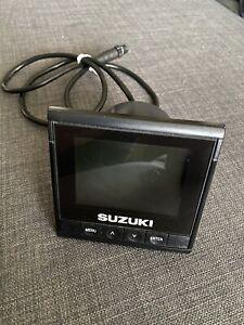 990C0-01C10 SUZUKI OUTBOARD SMIS MULTIFUNCTION LCD GAUGE DISPLAY 107032209