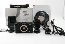 PENTAX Q7 12.4 MP Digital Camera 02 Lens Black from Japan【 Near Mint 】627313