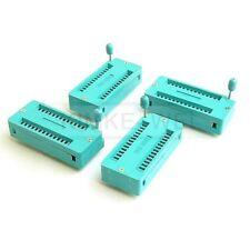 4x 28 pin Universal ZIF Socket Sockets Test DIP IC's IC New