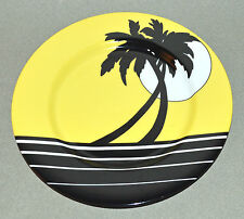 "Palm Beach Fitz and Floyd Inc Salad Dessert Tapas Plate 7.5"" tree California Mt!"