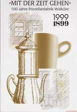 Fachbuch 100 Jahre Porzellanfabrik Walküre Bayreuth interessantes Porzellanbuch