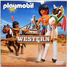 PLAYMOBIL 2013 WESTERN / TOP AGENTS 2 DVD PAL FOR EUROPEAN PLAYERS SEALED