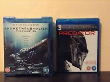 Prometheus to Alien: The Evolution Box Set + Predator trilogy (Blu-ray) *NEW*