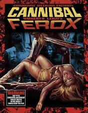Cannibal Ferox Blu-Ray/CD NEW Grindhouse Releasing REGION A Umberto Lenzi