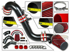 MATTE BLACK COLD AIR INTAKE KIT+Filter Fit For 12-15 Honda Civic SI 2.4L