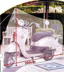 ROLLERABDECKUNG 200x110cm Fahrradgarage Fahrrad Schutzhülle Abdeckung Mofa 09