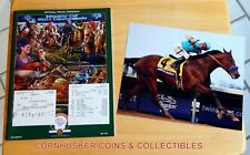 2015 BREEDERS CUP $2 UNCASHED WIN & RESULTS TICKETS PROGRAM PLUS PHOTO ~ MINT