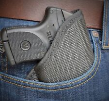 RUGER LC9 LC 380 Soft Armor Black Diamond Pocket Holster Conceal Carry BD-49 IWB