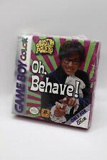 Austin Powers Oh Behave #1 - Nintendo Game Boy Color - New See Description