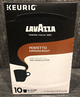 LavAzza Perfetto Espresso Roast Keurig K Cups 10 Pods Coffee 8/2021
