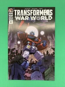 Transformers #29 1:10 Marcelo Matere RI Retailer Incentive Variant IDW 2021
