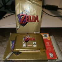 Legend of Zelda: Ocarina of Time CIB tested and working!