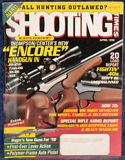 Magazine SHOOTING TIMES, April 1996 !!! THOMPSON/CENTER Model: ENCORE !!!
