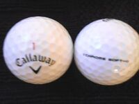 "10 CALLAWAY - ""CHROME SOFT"" - BLACK TICK - ""A"" Grade."
