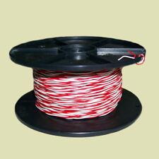 Schaltdraht YV 2x0,5 0,9 weiß rot 100 m Draht Klingel Klingeldraht Modellbau