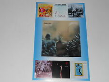 "Large Steely Dan 1972-80 Album Cover Poster Aja, Gaucho, Royal Scam 19""x13"""