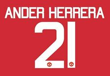 Ander Herrera 21 Manchester United 2017 Europa Final Football Nameset for shirt