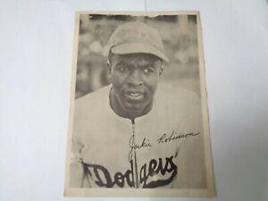 1947 JACKIE ROBINSON BROOKLYN DODGERS B&W ROOKIE PHOTO TEAM PACK (HOF)