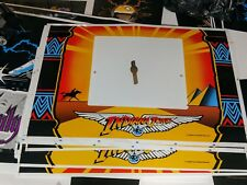 Indiana Jones pinball machine coin door original screen printed decal THE BEST