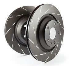 EBC Ultimax Rear Solid Brake Discs Seat Leon Mk3 (5F) 2.0 TD (184 BHP) (2013 on)