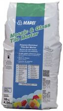 MAPEI Mosaic And Glass Tile 10 lb White Powder Thinset Mortar Polymer Ceramic