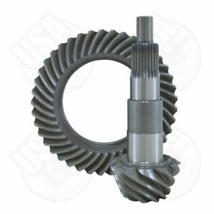 """USA standard ring & pinion gear set for Ford 7.5"""" in a 4.56 ratio."""