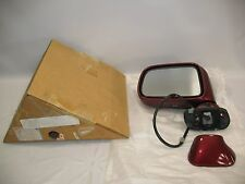 New OEM 1994-1999 Honda Odyssey Isuzu Driver Left Side View Mirror Assembly RED