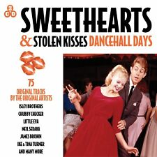 Sweethearts & Stolen Kisses - Dancehall Days 3 CD Set Isle Brothers Neil Sedaka
